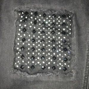 Melissa McCarthy Jeans - Melissa McCarthy Black Jeans SZ 18 knee details